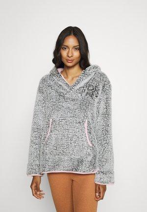 Hoodie - med grey