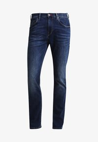 Tommy Hilfiger - DENTON - Straight leg jeans - new dark stone - 5