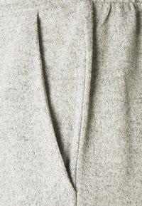 VILA PETITE - VILUNE PANTS - Trousers - super light grey melange - 2