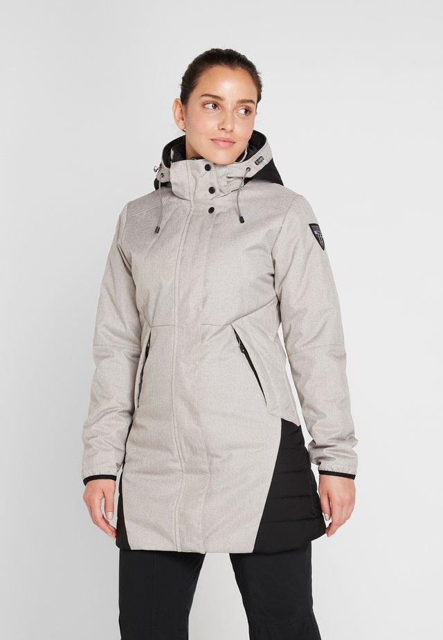 Winter coat - light gray