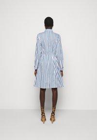 Steffen Schraut - SUMMER DRESS - Shirt dress - white/blue - 2