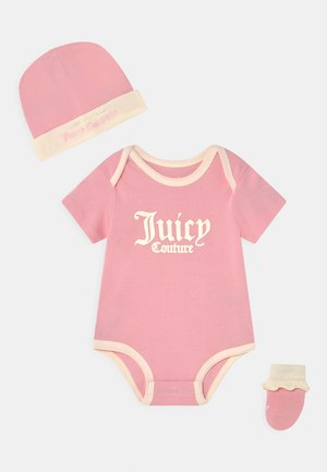 BABY SET - T-shirt print - rose quartz