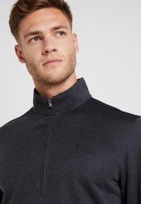 Under Armour - SWEATERFLEECE 1/2 ZIP - Sweatshirt - black - 4
