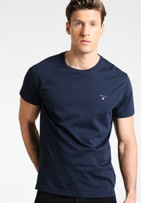 GANT - THE ORIGINAL - T-shirt - bas - navy - 0