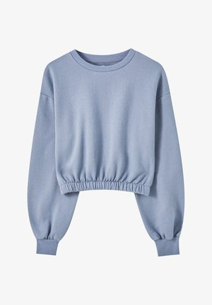 Sweatshirt - blue-grey