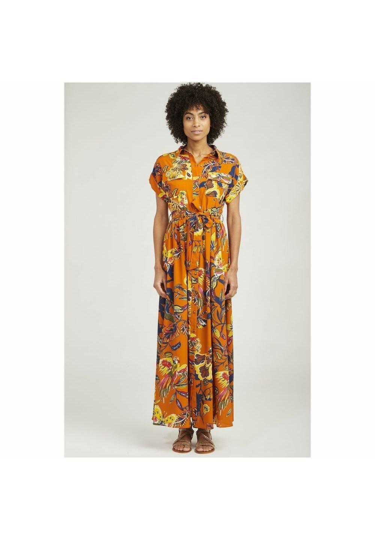 NAF NAF Robe chemise - orange - Robes femme yFtlt