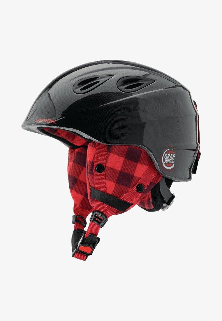 Alpina - GRAP 2.0 JR. - Helmet - black/red