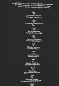Marc O'Polo - ROUND NECK LONG SLEEVE - Sweatshirt - black - 3