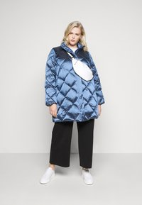 Persona by Marina Rinaldi - PAROLA - Down coat - blue - 1