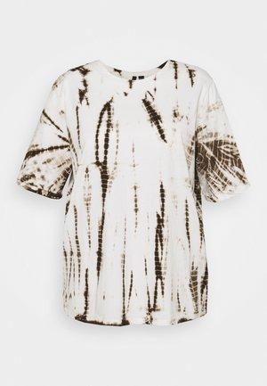 VMALVA SHIRT CURVE - Print T-shirt - fossil