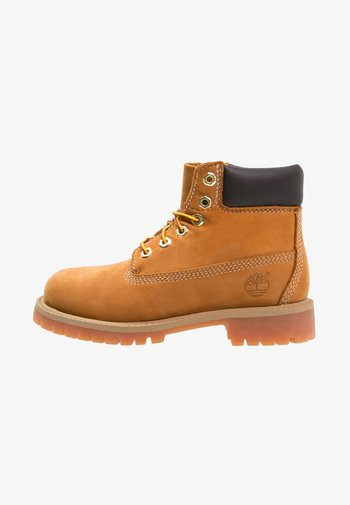 """6"""" PREMIUM  - Lace-up ankle boots - wheat"""