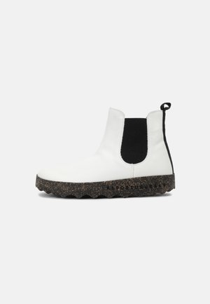 CAIA UNISEX - Classic ankle boots - white/black