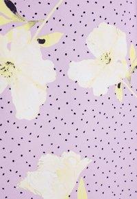 Closet - PUFF SLEEVE MIDI DRESS - Day dress - purple - 5