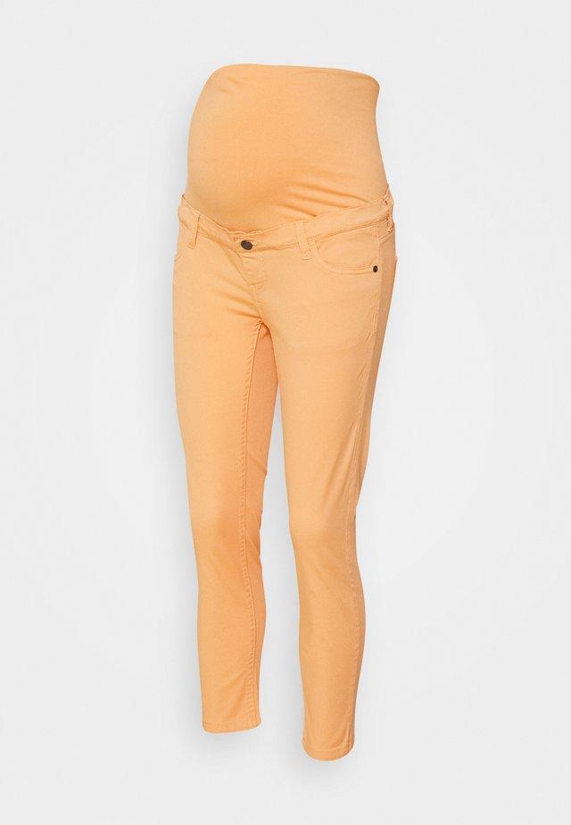 PANTS SLIM CALF - Kalhoty - orange dusk