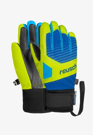 Gloves - imper blue/safety yellow