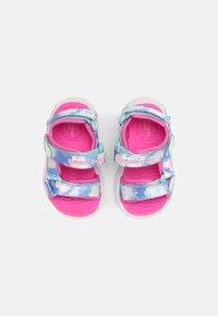 Skechers - RAINBOW RACER - Sandals - pink/light blue - 3