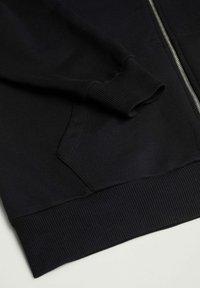 Mango - JANIS - Zip-up sweatshirt - noir - 2