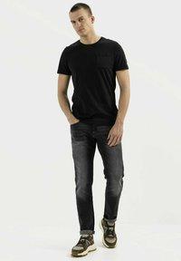 camel active - Basic T-shirt - asphalt - 1