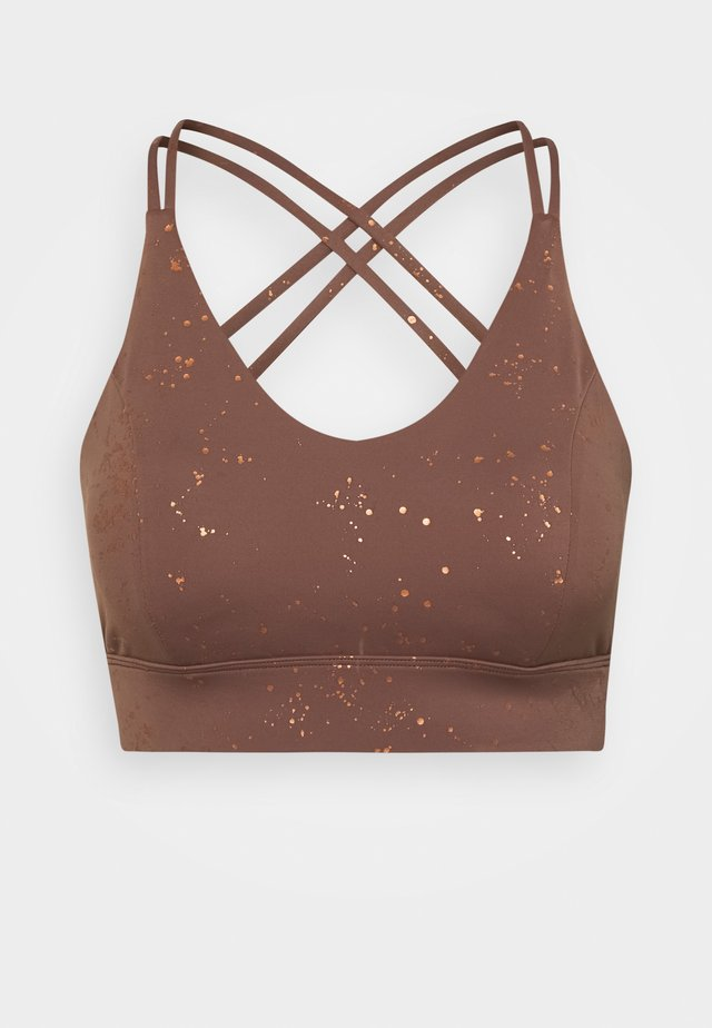 WILDERNESS CROP - Reggiseno sportivo - cinnamon