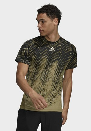TEE - T-shirt med print - orbit green