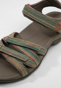 Teva - TIRRA - Walking sandals - taupe/multi - 5