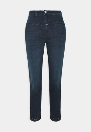 PEDAL PUSHER - Straight leg jeans - dark blue