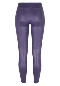 Urban Classics - Leggings - Trousers - darkduskviolet - 8