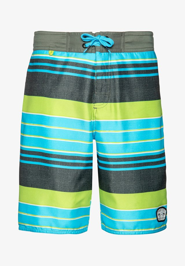 JONAH - Swimming shorts - grey green