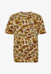 Quiksilver - PACIFICCAMOSSTE - Print T-shirt - light brown/khaki - 4