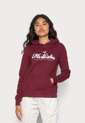 TECH CORE BURG - Sweatshirt - zinfandel