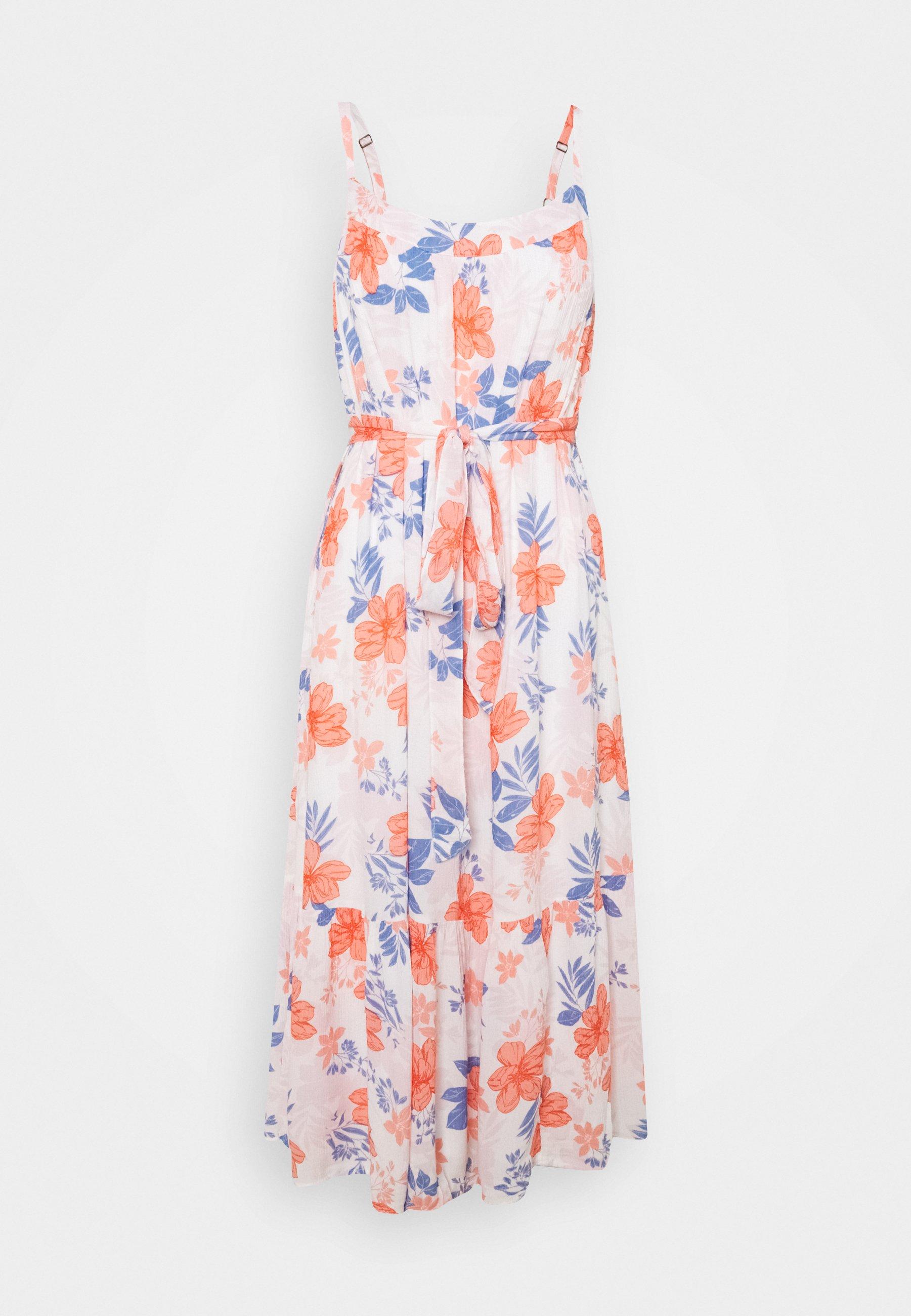 Women MIDI TIE WAIST DRESS - Day dress