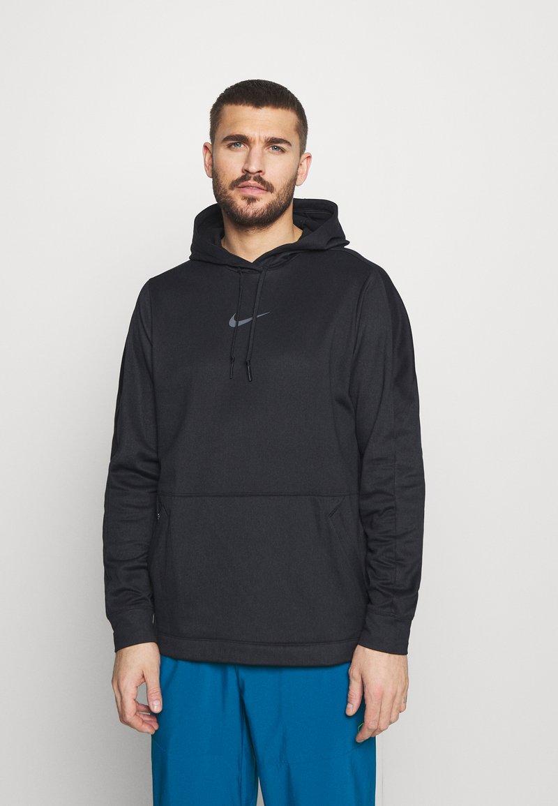 Nike Performance - Sweat à capuche - black/iron grey