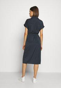 ONLY - ONLHANNOVER SHIRT DRESS - Skjortekjole - india ink - 2