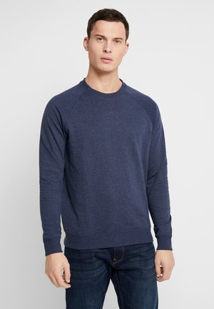 Sweater - mid blue melange