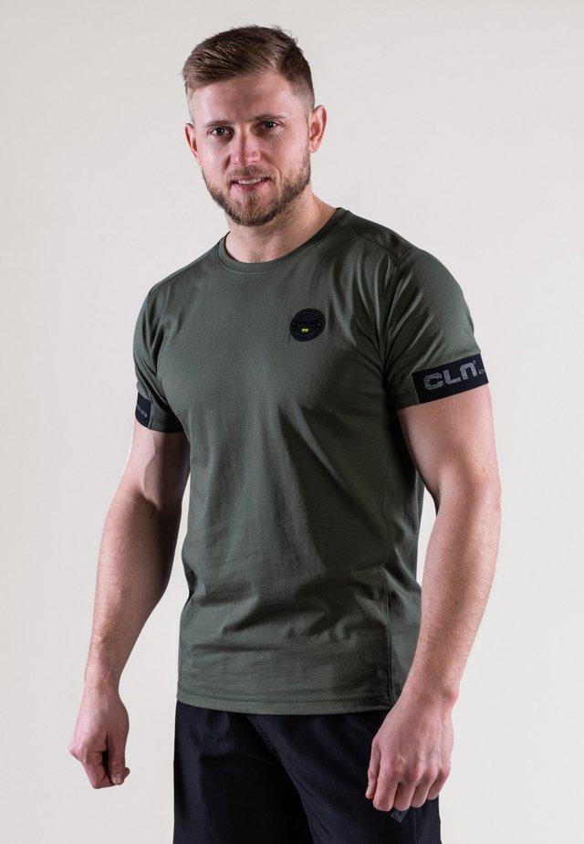 T-shirt de sport - moss green