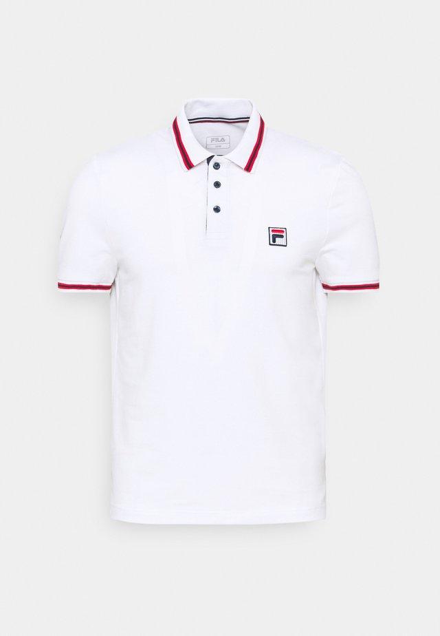 ALBERT - Funkční triko - white