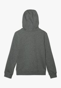 Nike Sportswear - HOODIE CLUB - Bluza rozpinana - carbon heather/smoke grey/white - 1