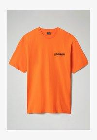 S JURASSIC - T-shirt z nadrukiem - orangeade