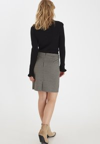b.young - A-line skirt - black mix - 2