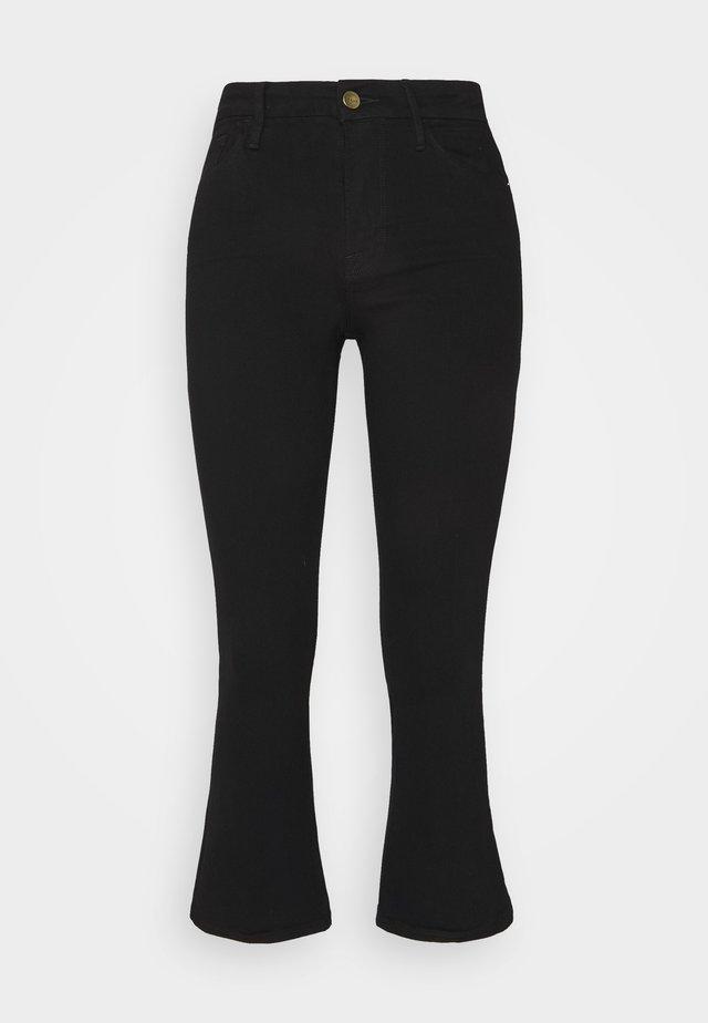 LE PIXIE - Bootcut jeans - film noir