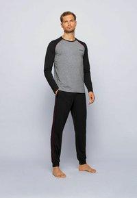 BOSS - Nachtwäsche Shirt - grey - 0