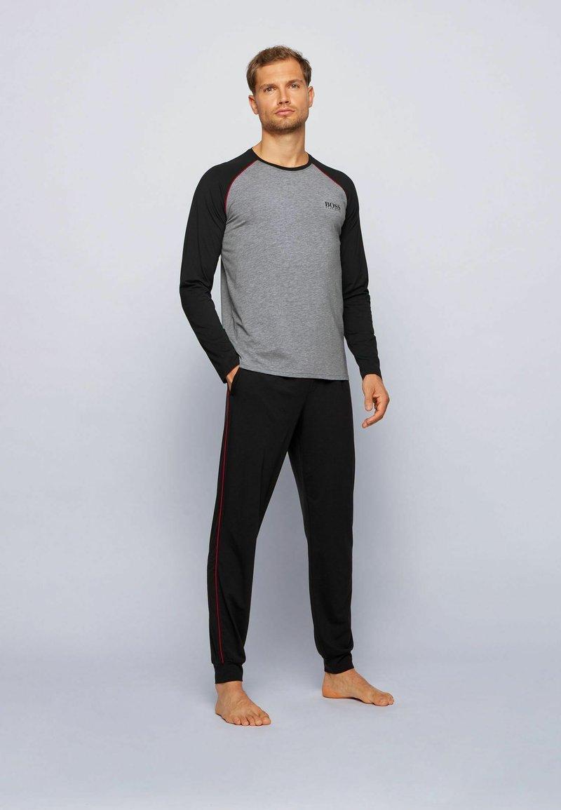 BOSS - Nachtwäsche Shirt - grey