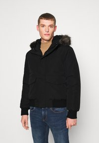 Superdry - EVEREST - Winter jacket - black - 0