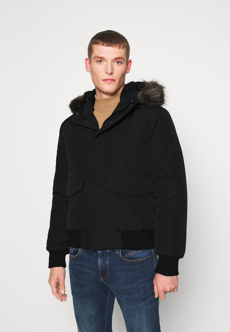 Superdry - EVEREST - Winter jacket - black