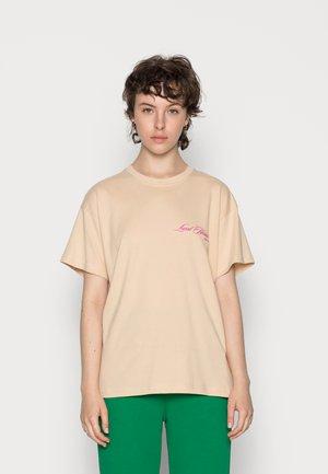 TEE - Basic T-shirt - nude