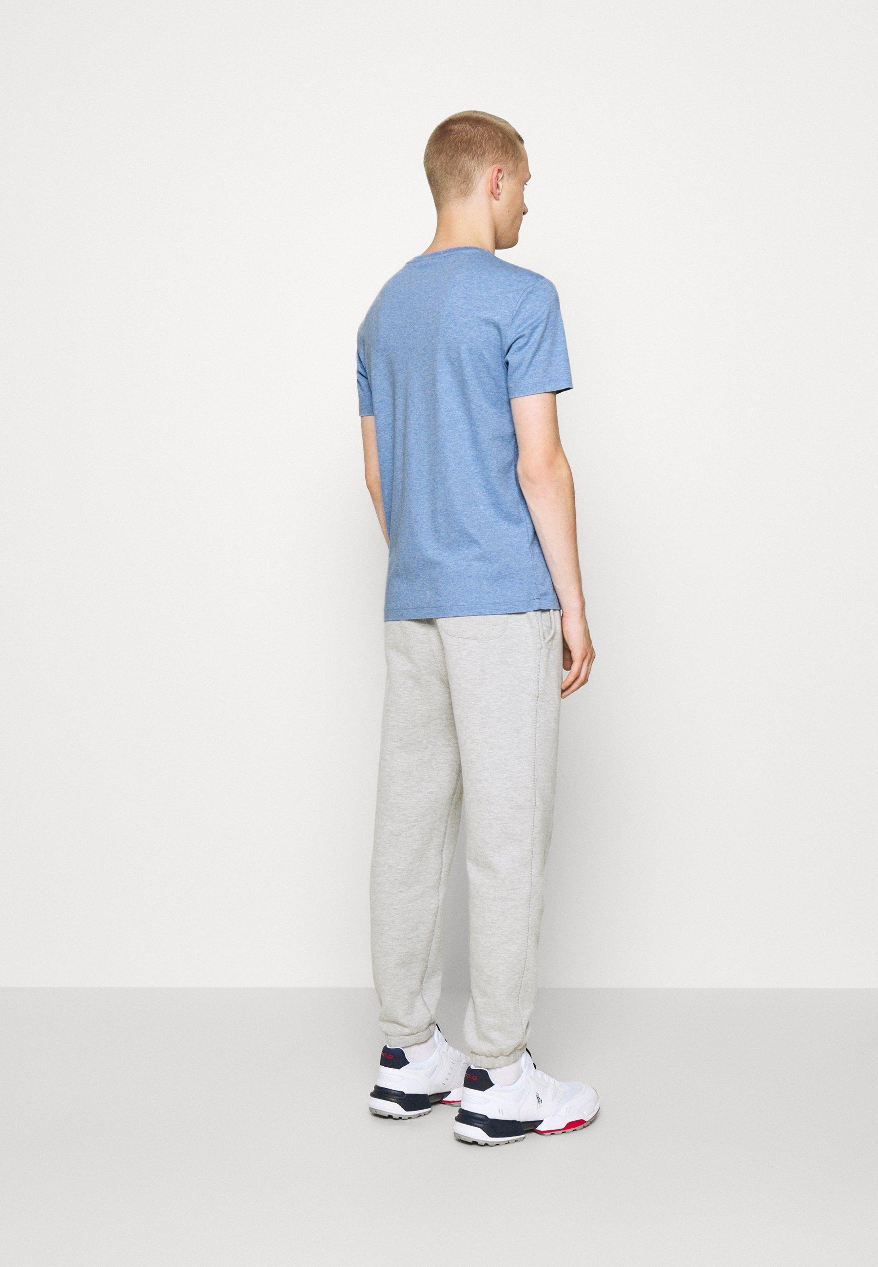 Men CUSTOM SLIM SOFT COTTON TEE - Basic T-shirt