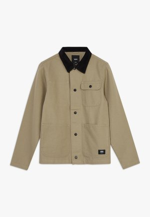DRILL CHORE COAT BOYS - Jas - military khaki