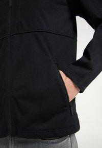 TUFFSKULL - Zip-up hoodie - schwarz - 3