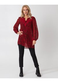 Indiska - Tunic - red - 0