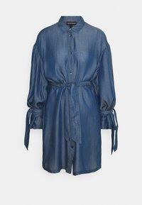 Emporio Armani - Sukienka jeansowa - denim blue - 6